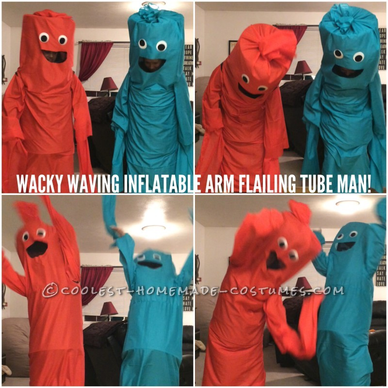 Wacky Waving Inflatable Arm Flailing Tube Man Costumes