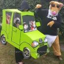 Cool DIY Couple Costume: Kia Hamster and Soul Car