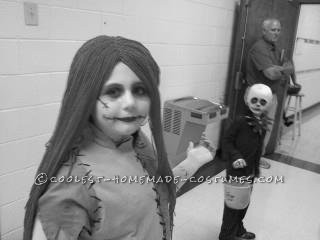 Cool Jack and Sally Siblings Costume