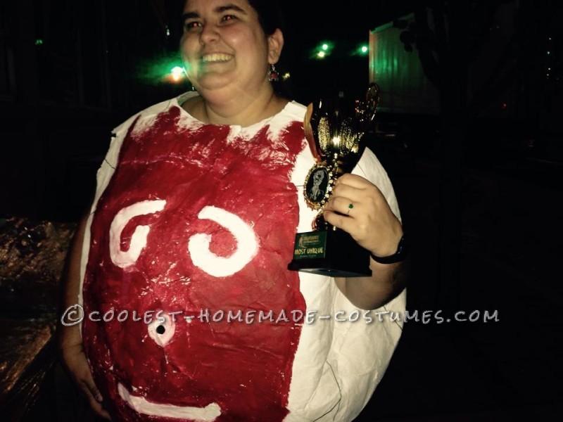 Wilson the Volleyball Paper Mache Costume