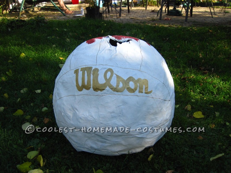 The back of Wilson