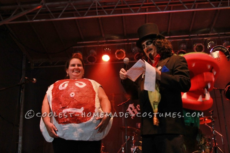 On stage with local legend Svengoolie