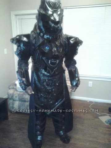"Creepy ""Wolf Bane"" Costume Idea"