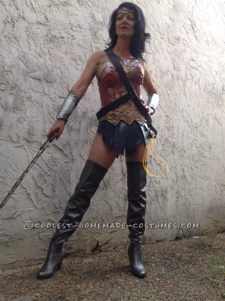 Wonder Woman Costume Based on Her New Look