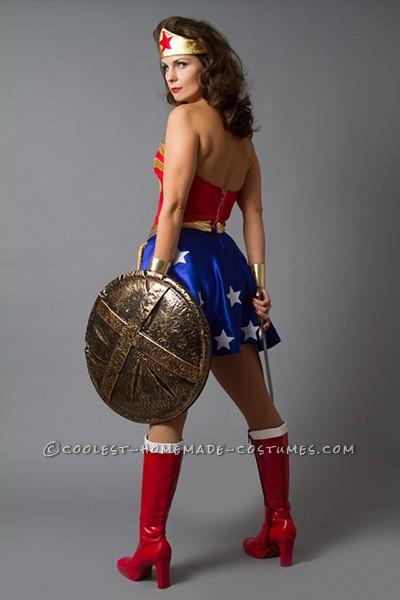 Sexy Wonder Woman Costume - Pin Up Style