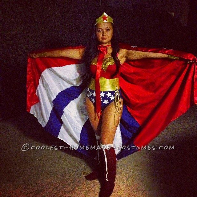 Wonderful Wonder Woman Costume