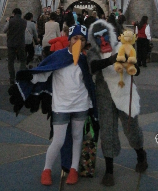Zazu and Rafiki Lion King Costumes - 1