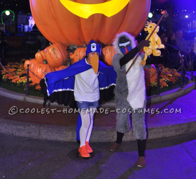 Zazu and Rafiki Lion King Costumes