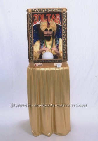 Awesome Functioning Zoltar Costume
