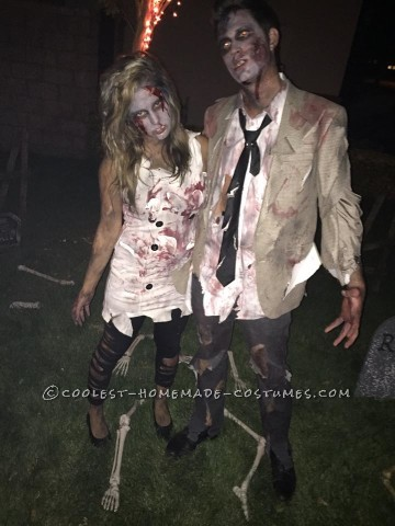 Cool Zombie Family Costumes