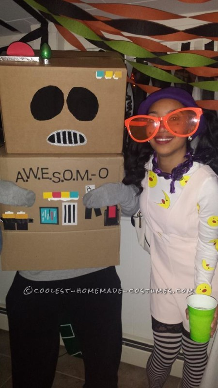 Cool No-Cost AWESOME-O Costume - 2