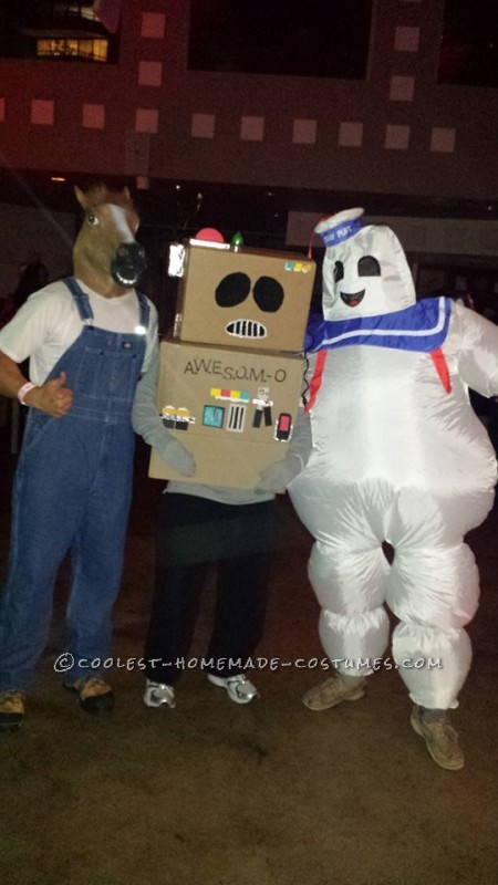 Cool No-Cost AWESOME-O Costume - 4
