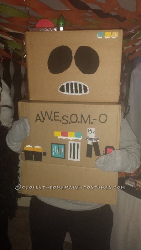 Cool No-Cost AWESOME-O Costume - 1
