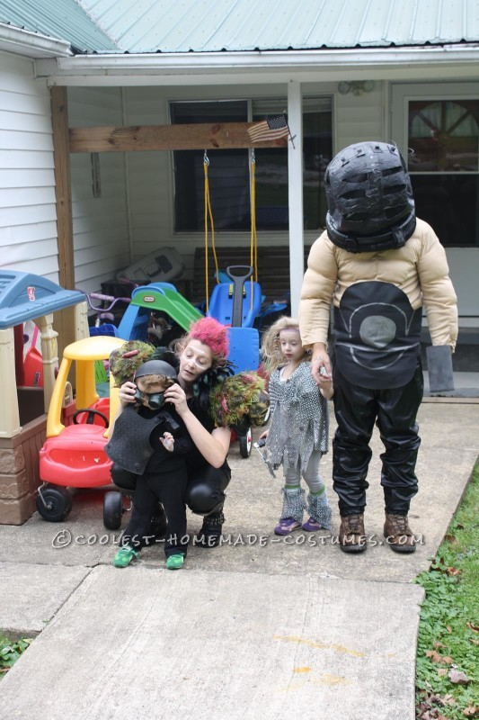 Cool Homemade Mad Max Family Costume