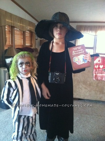 The Beetlejuice Clan Family Costume