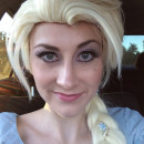 Coolest Homemade Elsa Costume - The Real Snow Queen