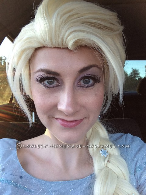 Coolest Homemade Elsa Costume – The Real Snow Queen