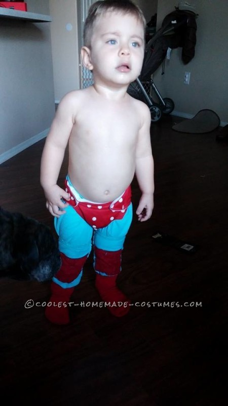 Cute Nacho Libre Toddler Costume