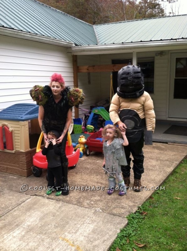 Cool Homemade Mad Max Family Costume - 2