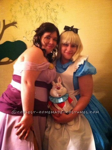 Homemade 1951 Alice in Wonderland Cartoon Costume for a Woman