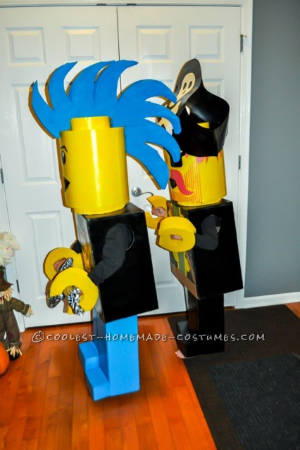 Coolest Pirate and Rock Star Lego Minifigures Costumes - 1