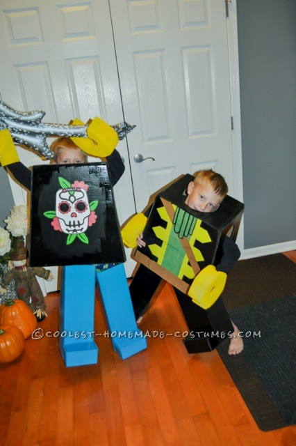 Coolest Pirate and Rock Star Lego Minifigures Costumes - 3