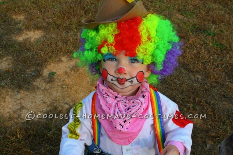 Cute Rodeo Clown Costume for 2-Year-Old - 3