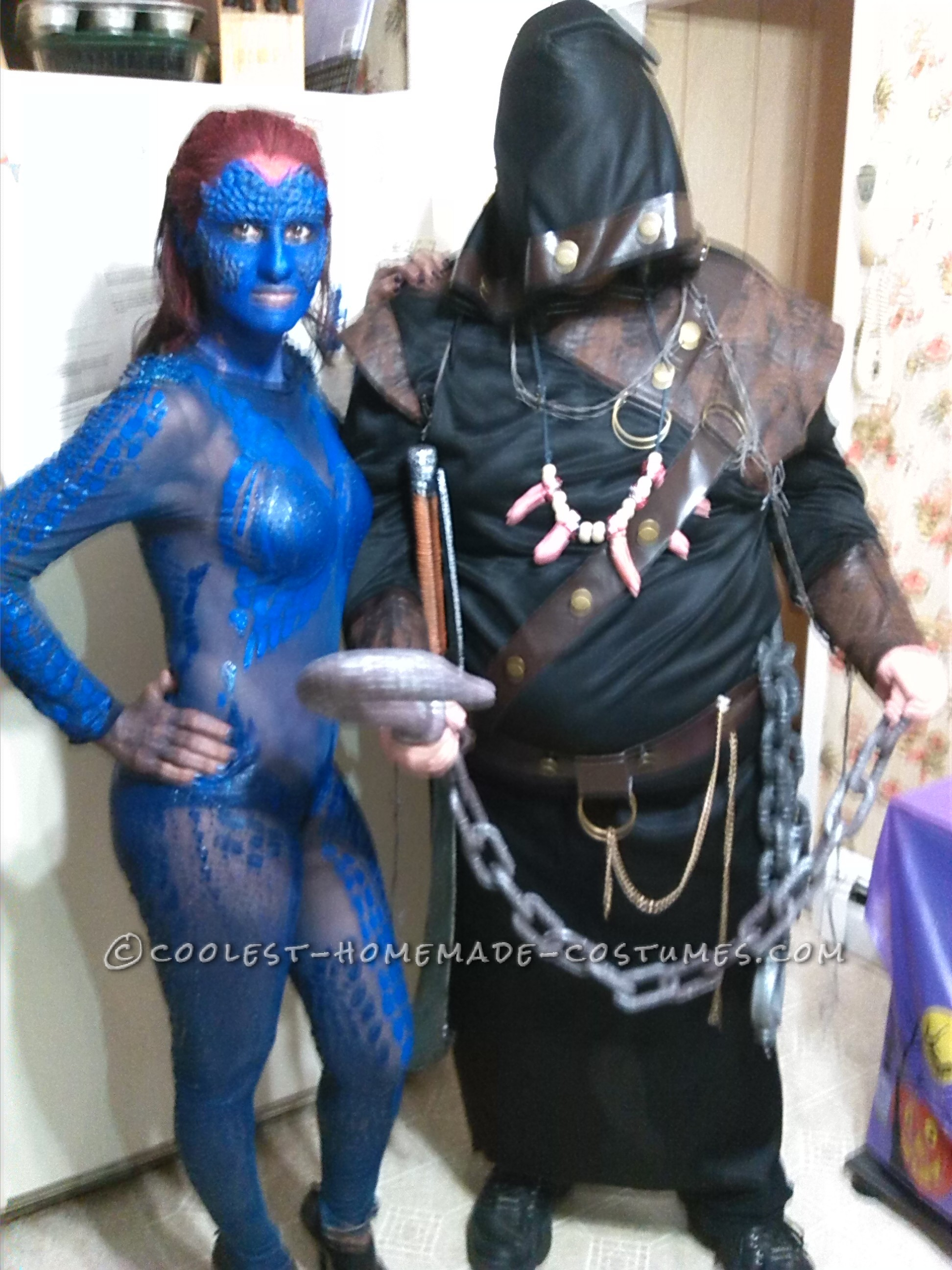 Homemade 3-Day Mystique Costume