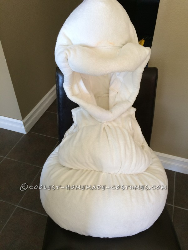 Coolest Homemade Toddler Olaf Snowman Costume - 5