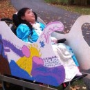 9-year-old Girl's Wheelchair Becomes a Princesse's Chariot