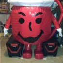 Extreme Huge Kool-Aid Man Homemade Costume!
