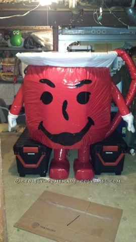 Extreme Huge Kool-Aid Man Homemade Costume!