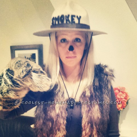 Only YOU can be Smokey Bear for Halloween