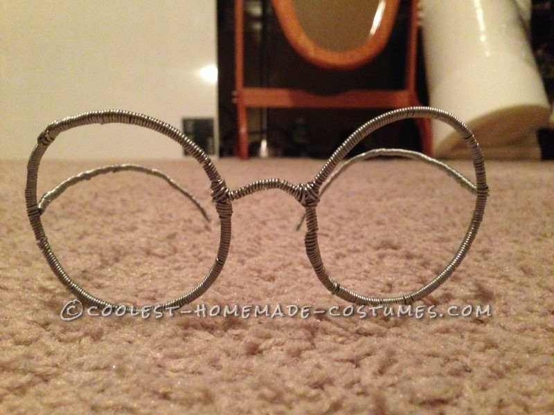 Meg's Glasses Before Being Painted