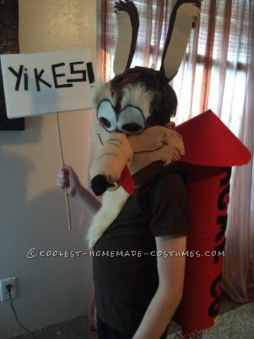 Super Genius Wile E. Coyote Costume - 1