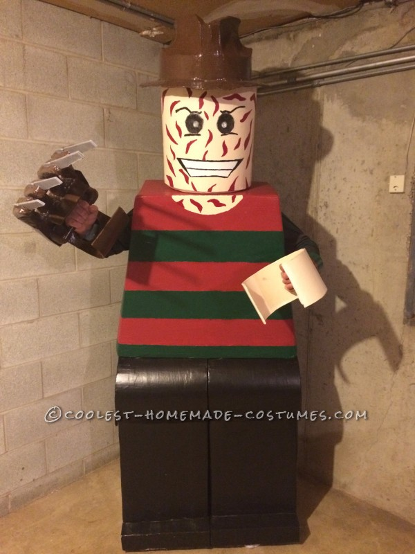 Amazing Lego Men Horror Villians Group Costume! - 2