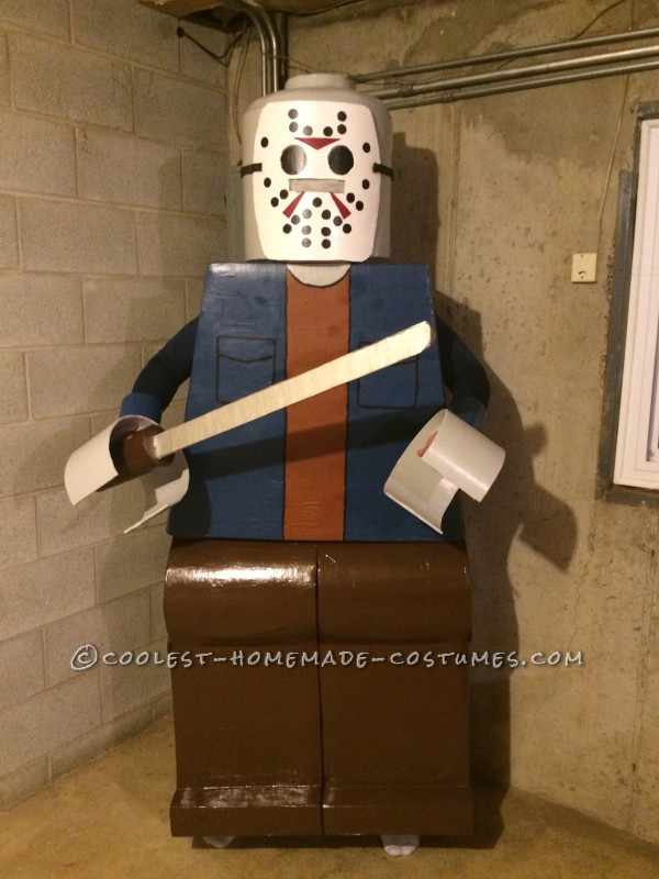 Amazing Lego Men Horror Villians Group Costume! - 1