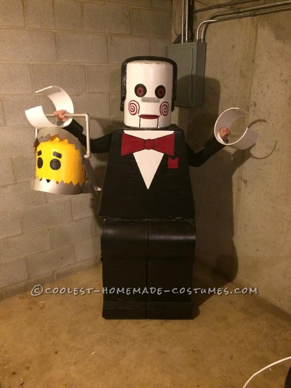 Amazing Lego Men Horror Villians Group Costume! - 5