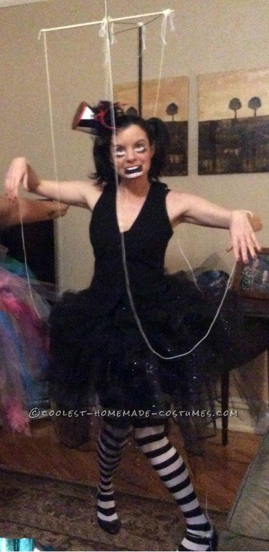 Coolest Homemade Marionette Costume