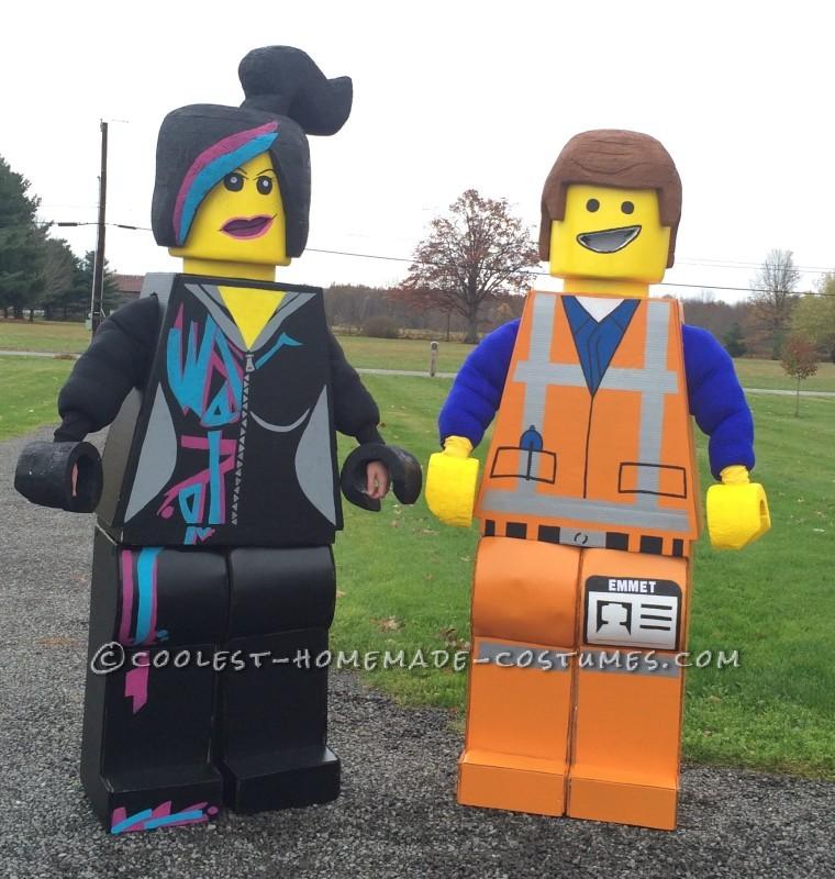Amazing Lego Movie Couple Costume - 15