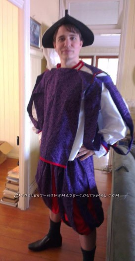 Homemade Renaissance Costume for my Boyfriend