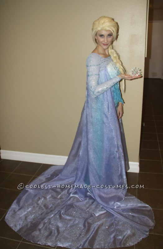 Authentic Frozen Family Costume - Elsa, Olaf, and Kristoff