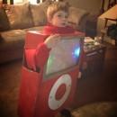 Cute iPod Costume for a Boy