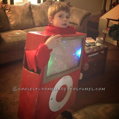 Cute iPod Costume for a Boy