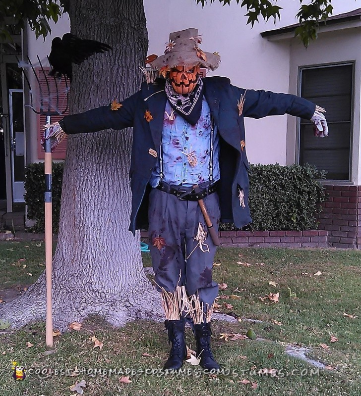 Scary Scare Crow Costume - 1