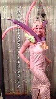 Feminine Sea Anemone Halloween Costume