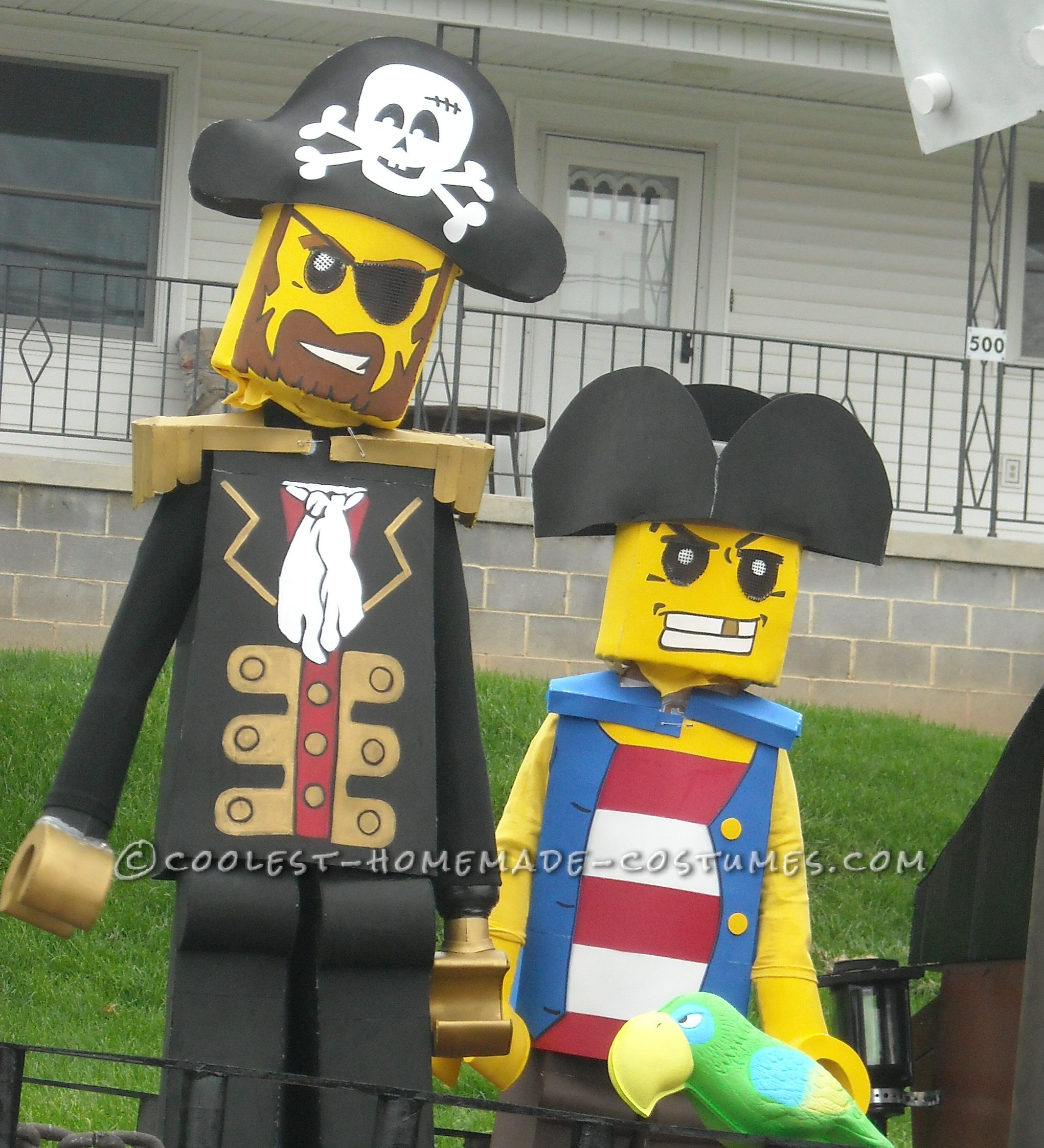 Cool Lego Pirate Costumes - Aargh! The Best and Most Difficult Costumes I've Ever Made