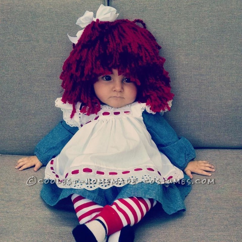 Adorable Raggedy Ann Baby Costume