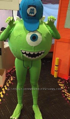Coolest Adult Mike Wazowski Costume