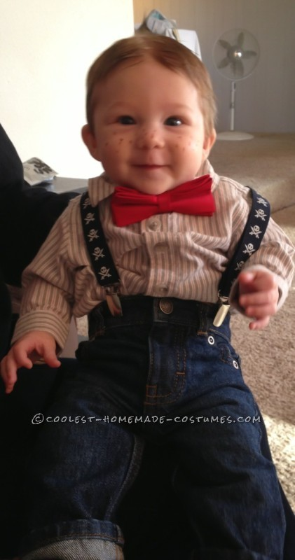 Alfalfa – Cutest Little Rascal Baby Costume